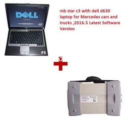 China Multi Diagnose-Tool Sprachen-2016,12 MB-Stern-C3 Mercedes mit Laptop Dells D630 funktioniert mit Autos u. LKWs fournisseur
