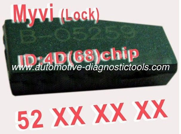 MYVI 4D 68 Car Key Transponder Chip 52XXX, Professional Auto Key Chips