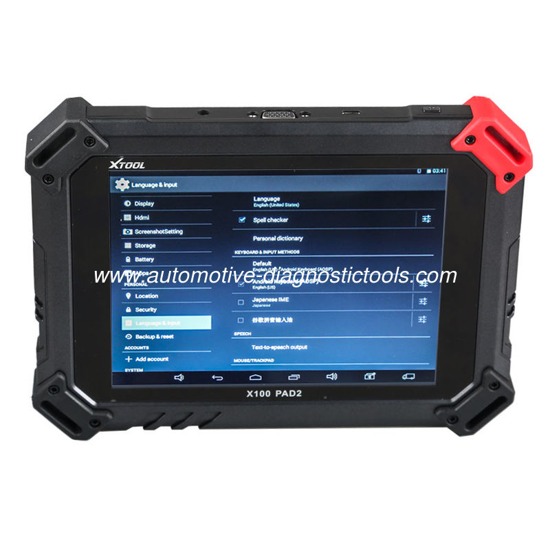 XTOOL X100 PAD 2 II Car Key Programmer Support Oil Reset / Odometer Adjustment