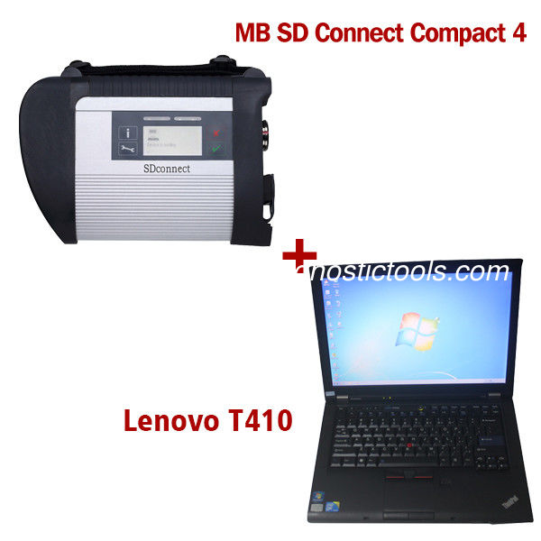 2018.7V Wireless MB SD C4 Mercedes Diagnostic Tool With I5 CPU 4G RAM Lenovo T410