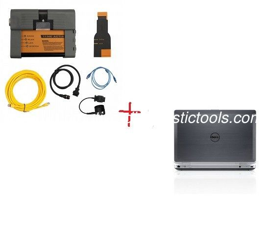 2020.8V BMW ICOM A2 BMW Diagnostic Tool With Dell E6420 Laptop I5 CPU 4G RAM Ready To Work