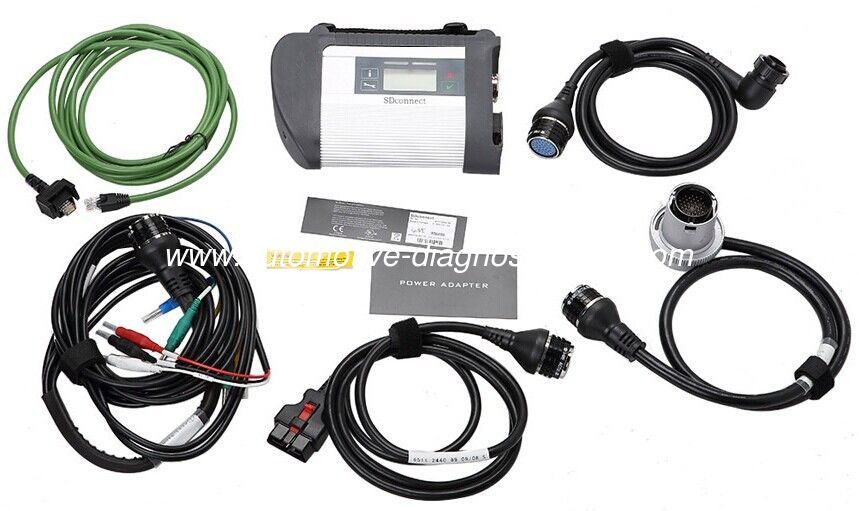 MB SD Connect Compact 4 Mercedes Diagnostic Tool  Work On Any Computers