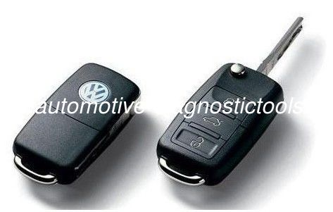 VW Volkswagen Remote Key with 3 Button 315MHZ, VW Car Key Blanks With Id48 Chip