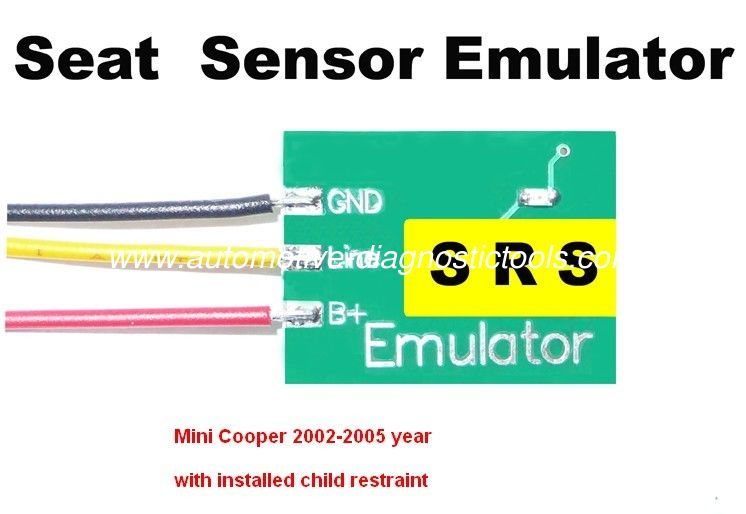SRS5 Mini Cooper Seat Sensor Emulator for Car Repair Troubleshooting