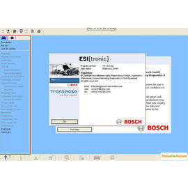 China Diagnose-Software BOSCH ESI 2014 selbstbewegende Versions-Q1 (Tronic) multi Sprache usine